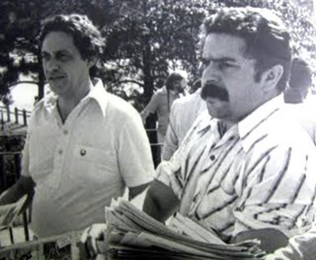 Lula and FHC campaigning together in 1981, by Clóvis Cranchi Sobrinho