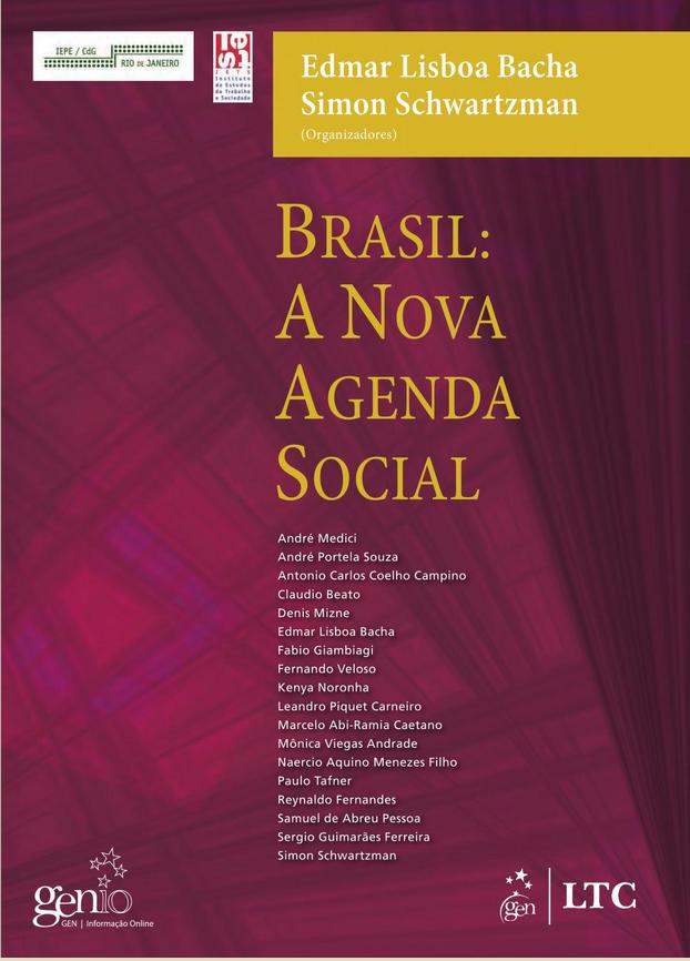 Capa do livro Brasil: Nova agenda social