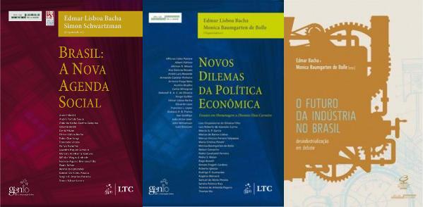 Livros organizador por Edmar Bacha et al